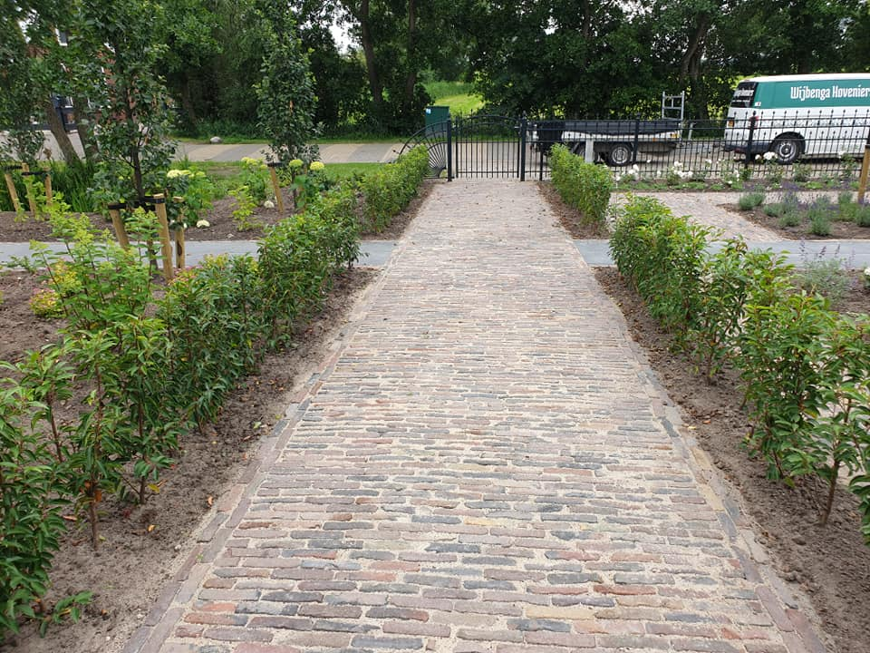 Tuin in Damwoude